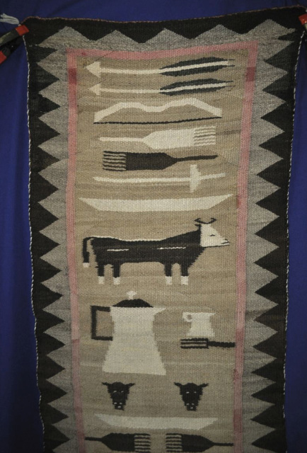 Yei Pictorial Navajo Weavings At Matt Wood S Aaia Inc