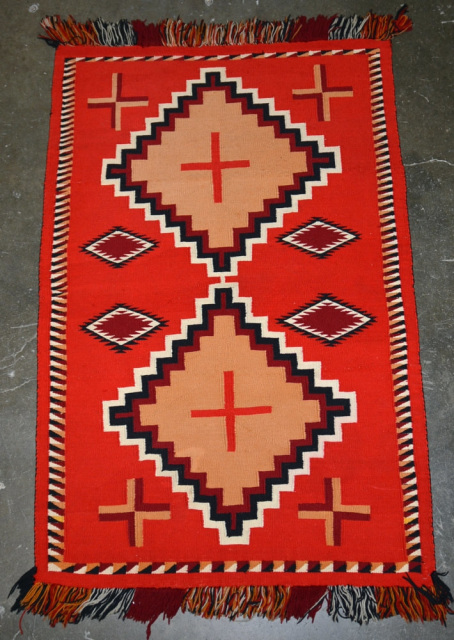 Navajo Germantown Weavings At Matt Wood S Aaia Inc
