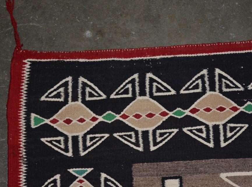 5114 01 Navajo Rug Teec Nos Pos