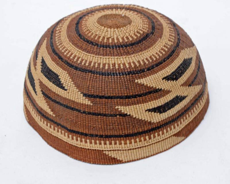 7ed0968d136 190325-01 Karuk - Yurok - Hupa Hat - Fancy Hat
