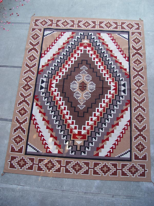 111101 03 Southwest Area Rug 9 X 12