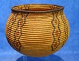 Antique Native American Indian basket Chemehuevi olla cleaning repair services