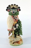 Hopi Indian Kachina doll carving contemporary Morning Singer