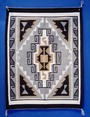 The design of a Navajo rug or blanket is a factor in appraising as some designs are more desirable than others