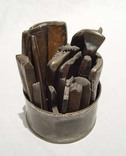 Old Navajo Silver smithing tools history Indian jewelry
