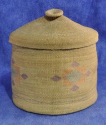 Attu basket Arctic Native American Indian