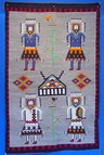 Navajo rug styles Pictorial and Yei