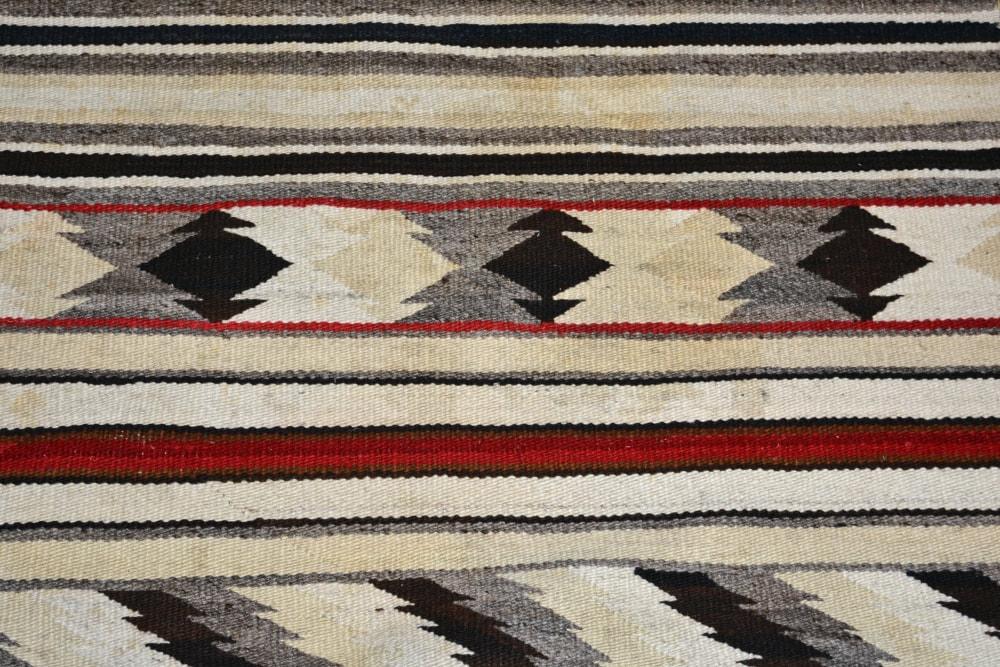 061027 01 Navajo Blanket Rug Classic Revival